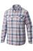 Columbia Silver Ridge Plaid - Camiseta de manga larga - gris/rojo